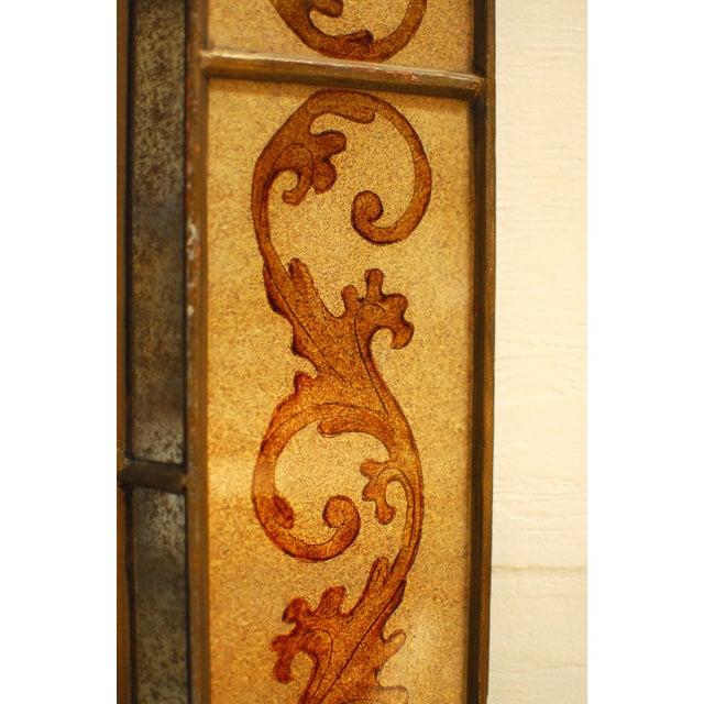 Image of Venetian Style Reverse Painted Mirror