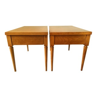 T.H. Robsjohn-Gibbings End Tables - A Pair