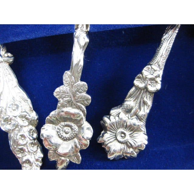 1960s Reed & Barton Silverplate Fiesta 4 Piece Set - Image 3 of 7