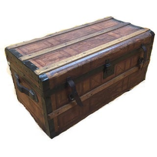1860's Antique Civil War Trunk
