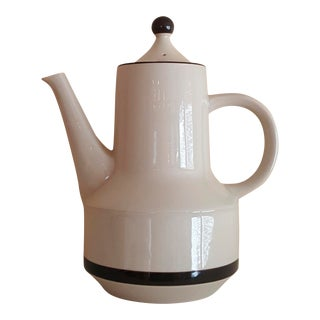 Japanese Stoneware Teapot With Lid