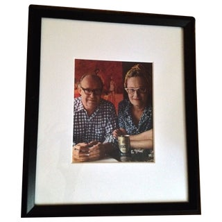 Framed Photograph of Australian Artist and Wife