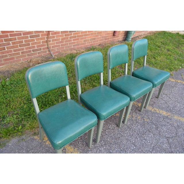 Steelcase Mid Century Office Chairs - Set of 4 - Image 4 of 8
