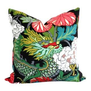 Ebony Schumacher Chiang Mai Dragon Decorative Pillow Covers, 20x20