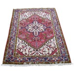 Image of Persian Heriz Rug - 3′1″ × 4′7″