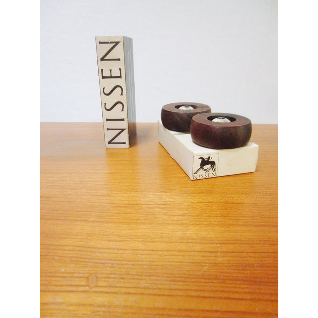 Danish Modern Nissen Candle Holders - A Pair - Image 6 of 9