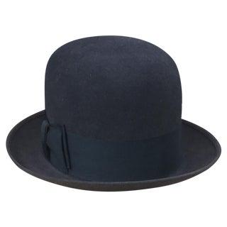 Vintage Mallory Stetson Derby Bowler Hat