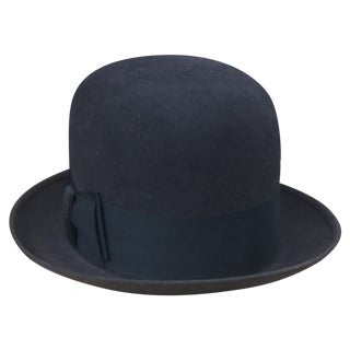 Vintage Mallory Stetson Derby Bowler Hat