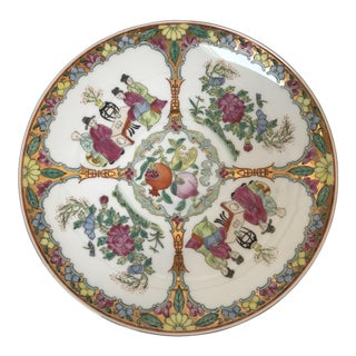Imari Chinoiserie Decorative Plate