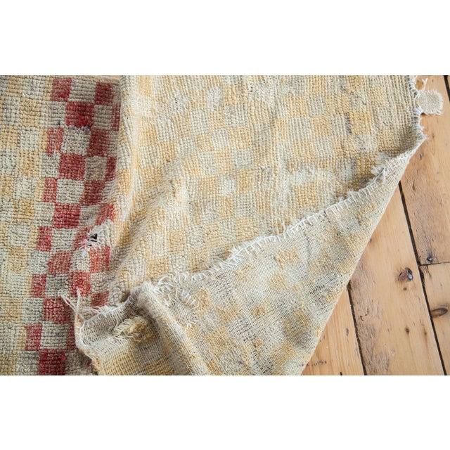 "Vintage Tulu Square Rug - 3'4"" x 3'9"" - Image 5 of 5"