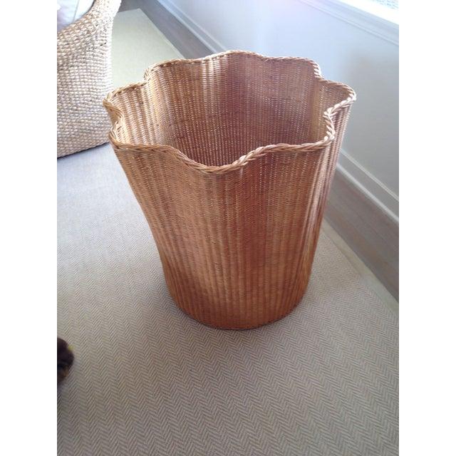 Soane Ripple Circular Rattan Table - Image 4 of 5