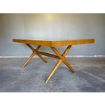 Image of Widdicomb Mid-Century Dining Table With Leaf