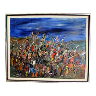 """""""Soldiers"""" Painting by Gerard Economos"""