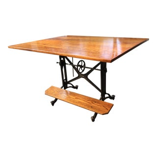 Vintage Keuffel & Esser Drafting Table