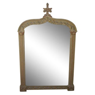 An Oversized Late 19th C. Italian Mantel Mirror
