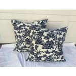 Image of Blue & White Chinoiserie Pillows - A Pair
