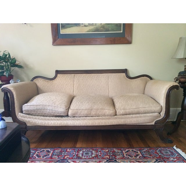 Duncan Phyfe Antique Sofa - Image 3 of 8
