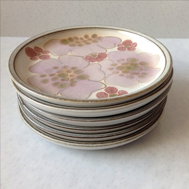 Gypsy Rose Plates by Denby - Set of 6 - Image 7 of 10