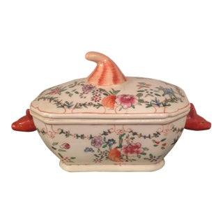 Chinoiserie Animal Head Floral Box