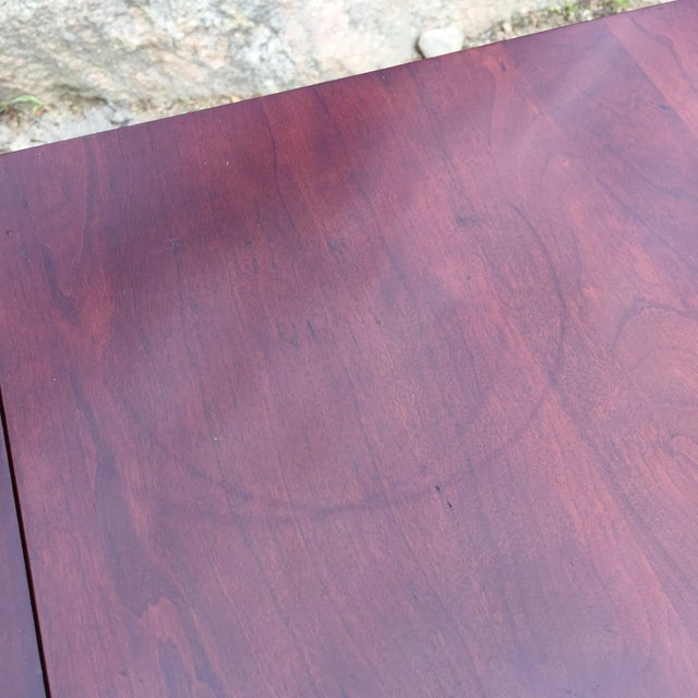 Cherry Drop Leaf End Tables - A Pair - Image 7 of 11