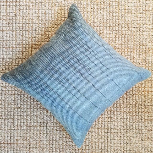 Vintage Geometric Turkish Rug Pillow - Image 3 of 6