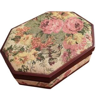 Vintage Tapestry Box