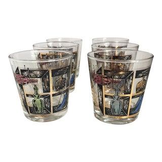 MId-Century Lowball Glassware - Set of 6