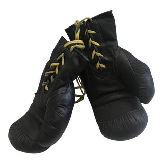 Leather Boxing Gloves - A Pair