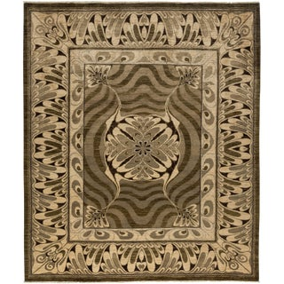 """New Contemporary Hand Knotted Area Rug - 8'2"""" x 9'6"""""""