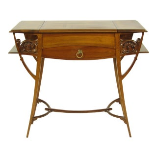 French Art Nouveau Writing Table