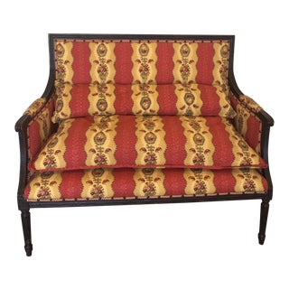 French Country Louis XV Settee