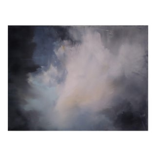 """Subtle Clouds"" Original Abstract Art by Kris Gould"