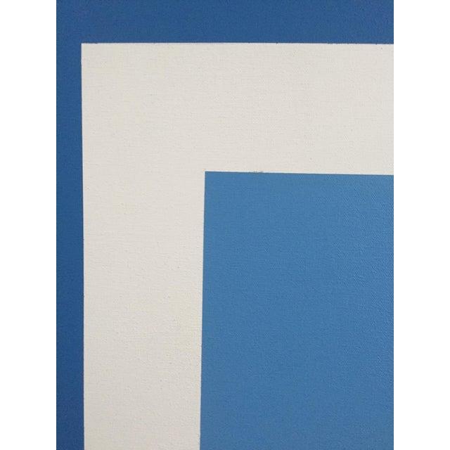 1971 Hard Edge Abstract Fredrick Gaertner - Image 6 of 10