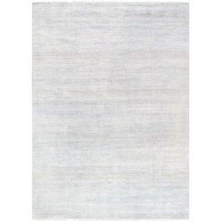"Pasargad Transitional Silk & Wool Area Rug- 9'10"" X 13'10"""