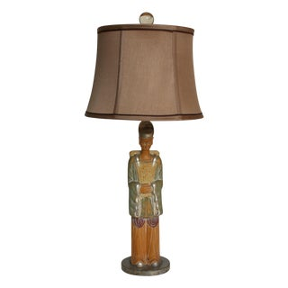 Asian Figural Table Lamp
