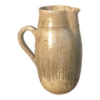 Late 1950s German Studio Pottery Vase/Pitcher