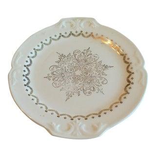 Vintage Semi Vitreous Platter