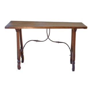 18th C. Rustic Spanish Console