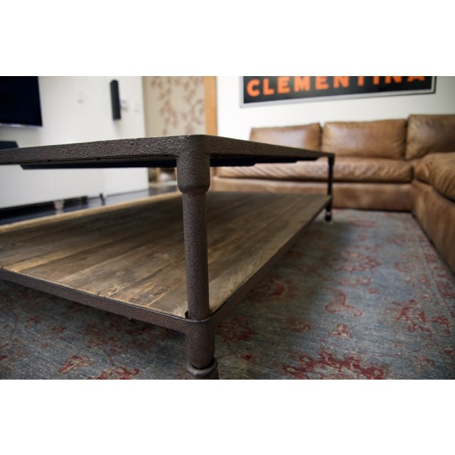 Restoration Hardware Dutch Industrial Coffee Table Chairish