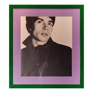 """Rudolf Nureyev"" B&W Framed Photo by David Bailey From His Iconic 1962 Box of Pin-Ups"
