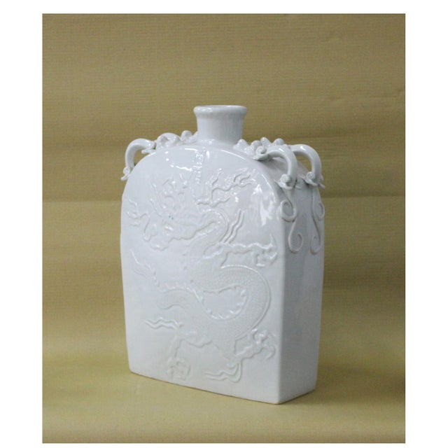 Sarreid LTD Grey Dragon Ceramic Vase - Image 3 of 3