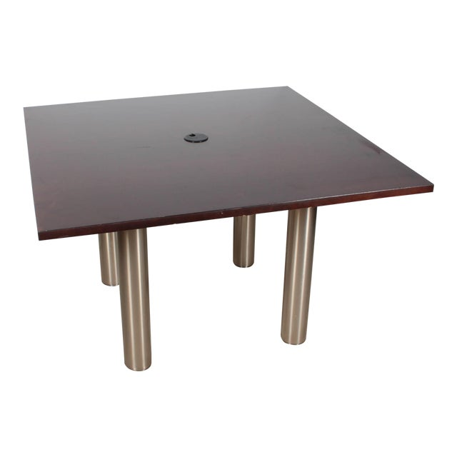 Knoll Reff Square 4ft Office Conference Table - Image 1 of 6