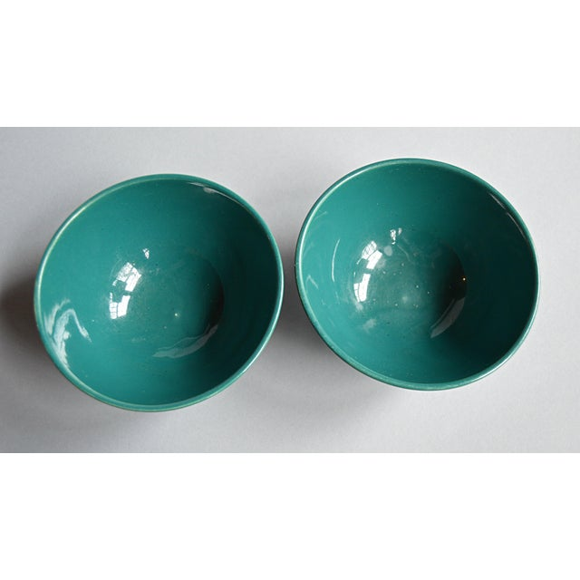 French Coffee Bowls - A Pair - Image 4 of 5