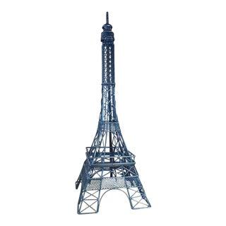 Eiffel Tower Metal Statue