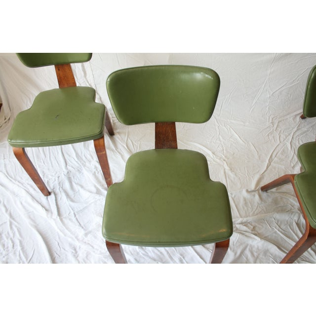 Vintage Thonet Bentwood Chairs - Set of 4 - Image 2 of 7