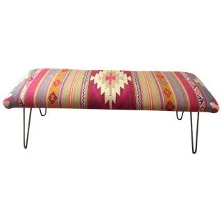 Handmade Kilim Bench