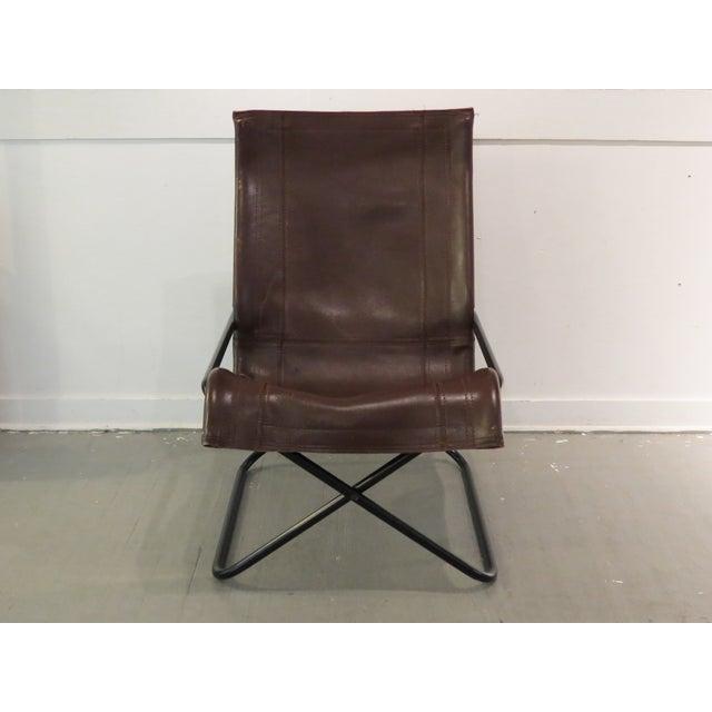 Image of Vintage MCM Uchida Leather Sling Chair