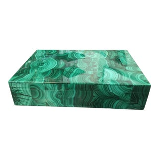Russian Style Malachite Box