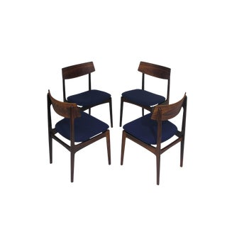 Solid Rosewood Danish Dining Chairs