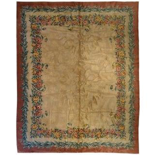 "French Savonnerie Carpet 12' x 15' 2"""